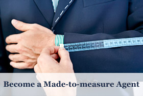 Job opportunity - Become a Made-to-measure Agent in Europe or USA